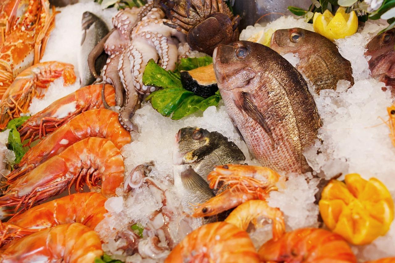 seafood, food, healthy
